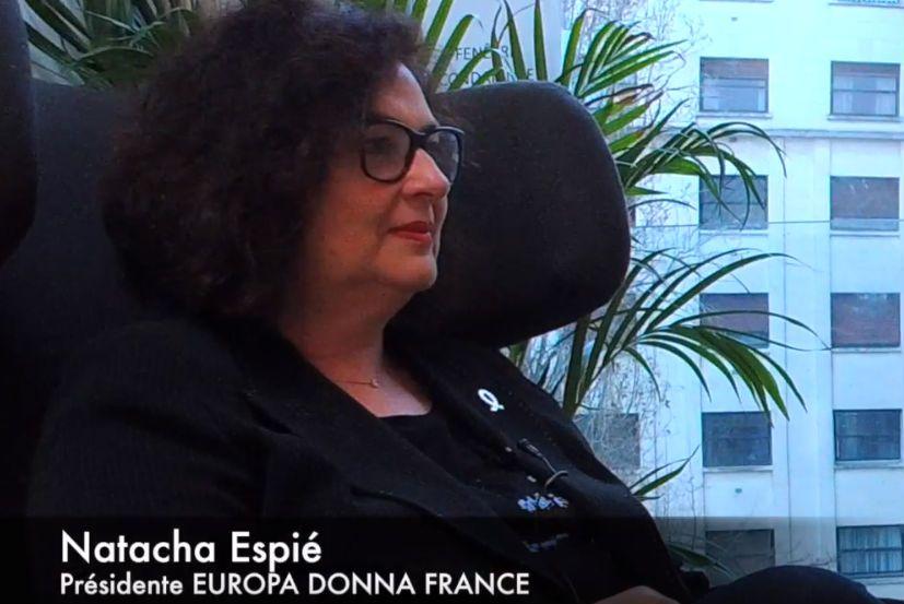 [VIDÉO] Entretien avec Natacha ESPIE - présidente EUROPA DONNA FRANCE