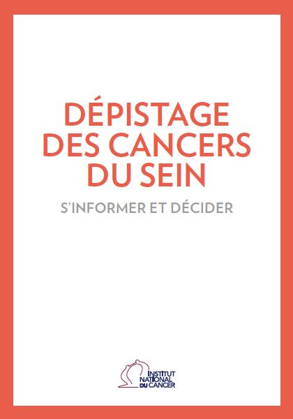 Dépistage des cancers du sein