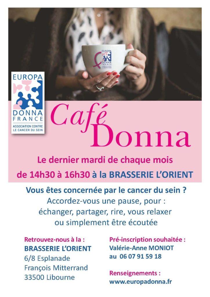 """""""Café Donna"""" à Libourne"""