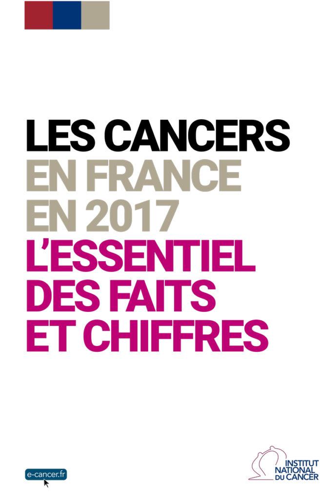 L'essentiel des faits et chiffres des cancers en France en 2017