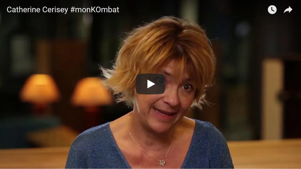 [vidéo] Catherine Cerisey témoigne de son #Kombat