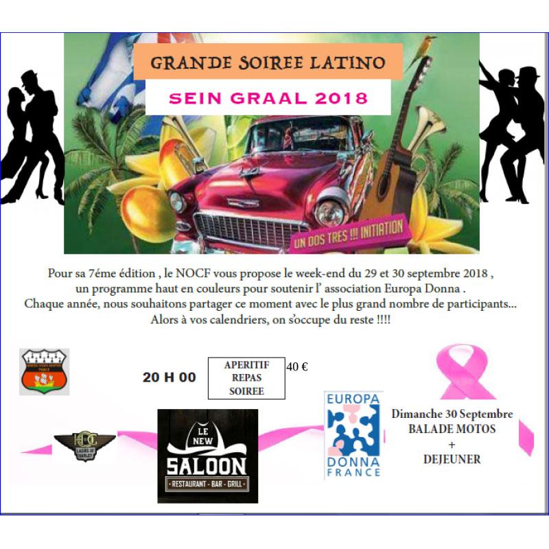 Grande soirée Latino au profit d'Europa Donna 44, samedi 29 septembre