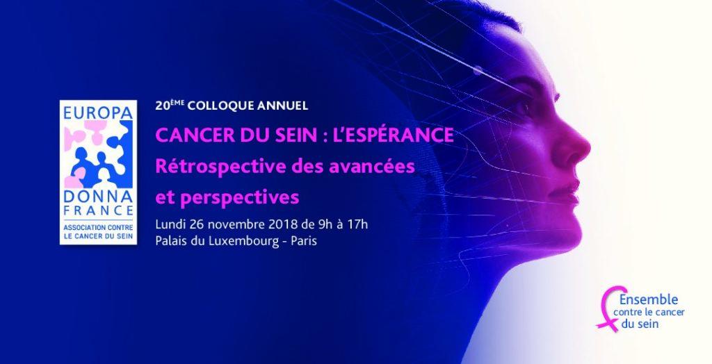 20ème colloque annuel  d'Europa Donna France