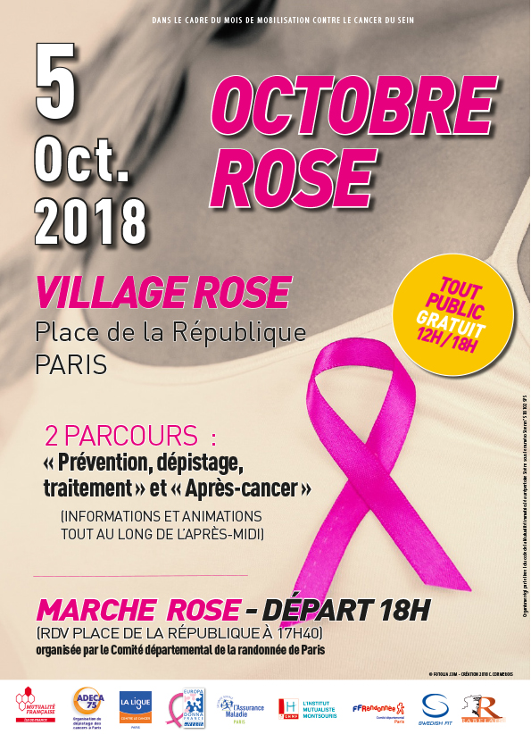 Europa Donna participe au Village Rose place de la République