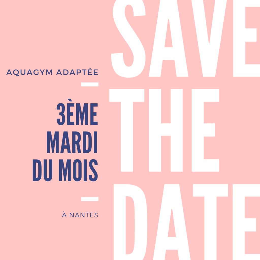 """""""Aquagym Adaptée"""" à Nantes"""