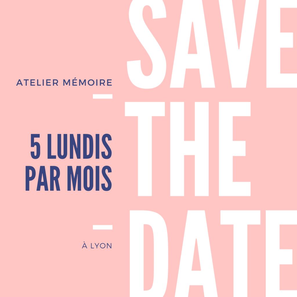 """""""Atelier Mémoire"""" à Lyon"""