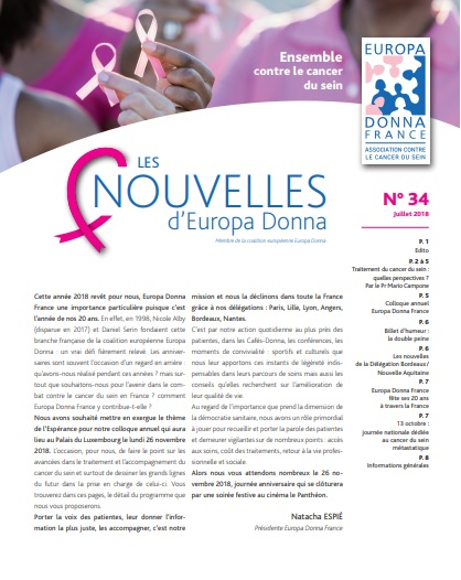 [NEWS] Les Nouvelles - Juillet 2018 n°34