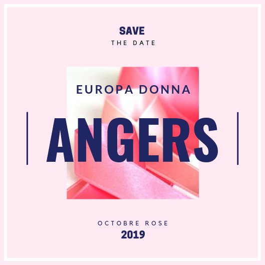 """Octobre Rose"" : Programme d'Europa Donna Angers"