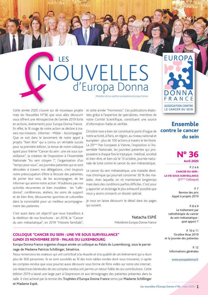 Nouvelles N°36