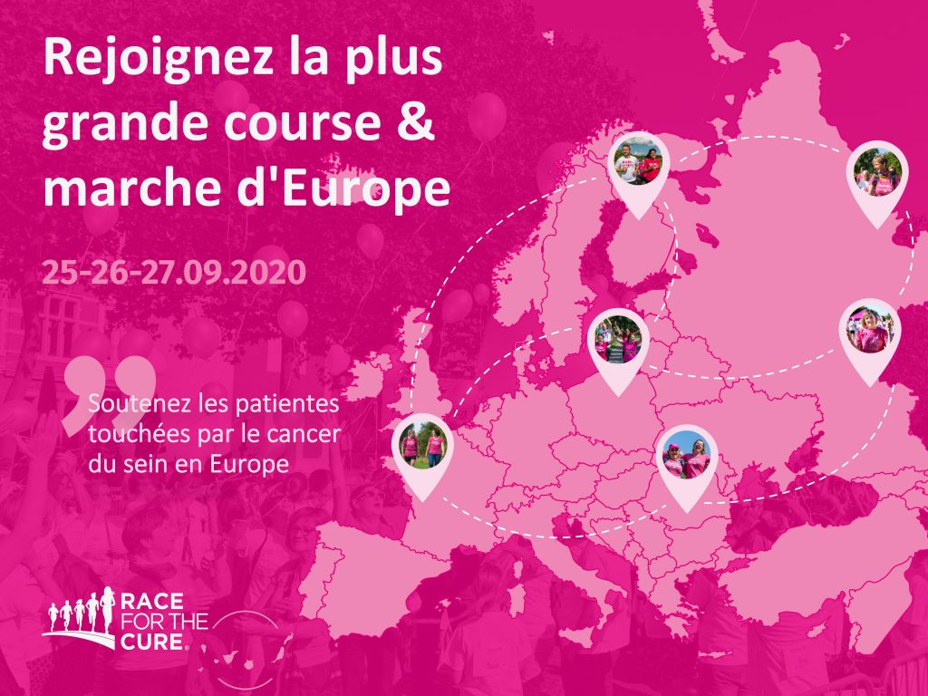 Europa Donna France rejoint Race For The Cure®