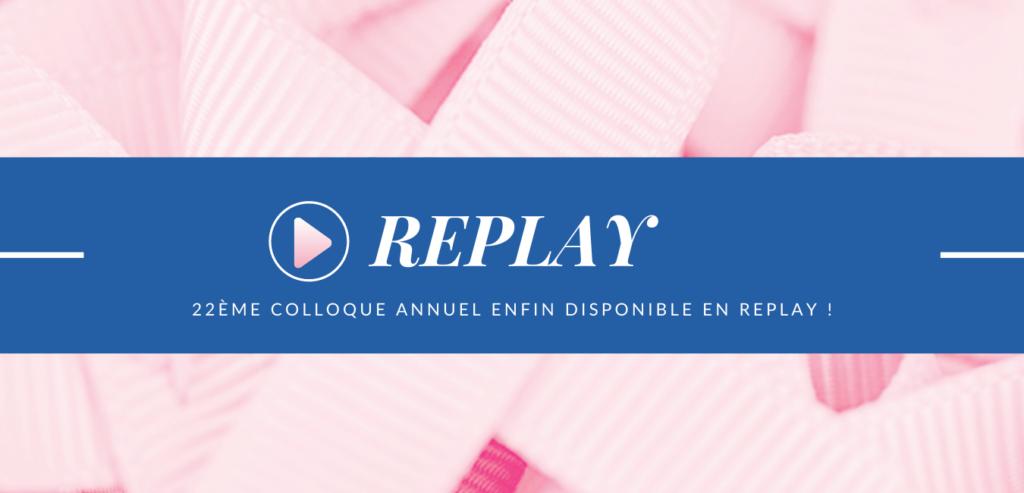 REPLAY : Notre colloque annuel 2020 enfin disponible !