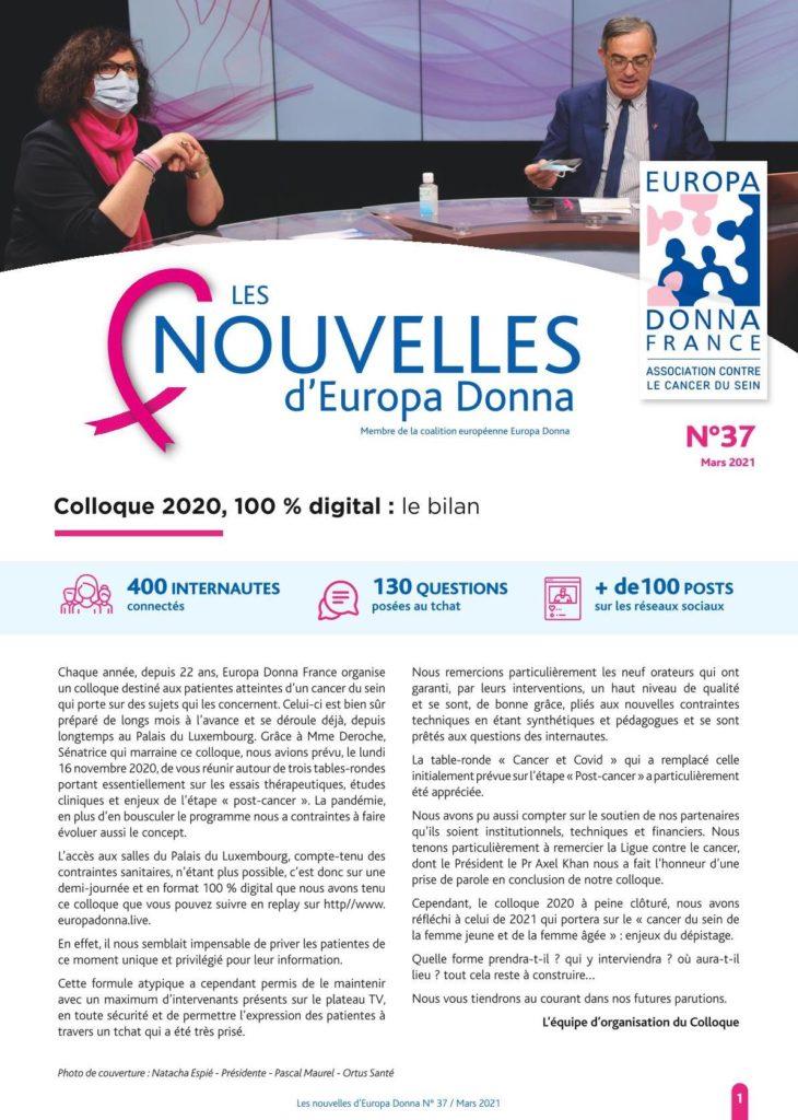 Nouvelles n°37